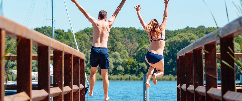 Sommer, Sonne, Spaß am See