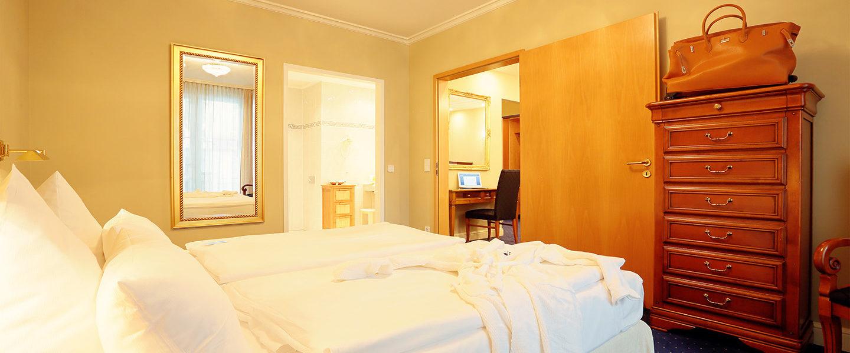 Zimmer - Suite - INSELHOTEL Potsdam