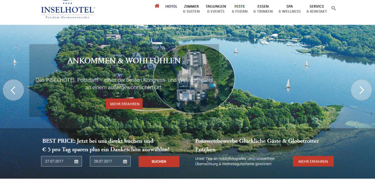 Nicht Suchen Einfach Buchen Inselhotel Potsdam