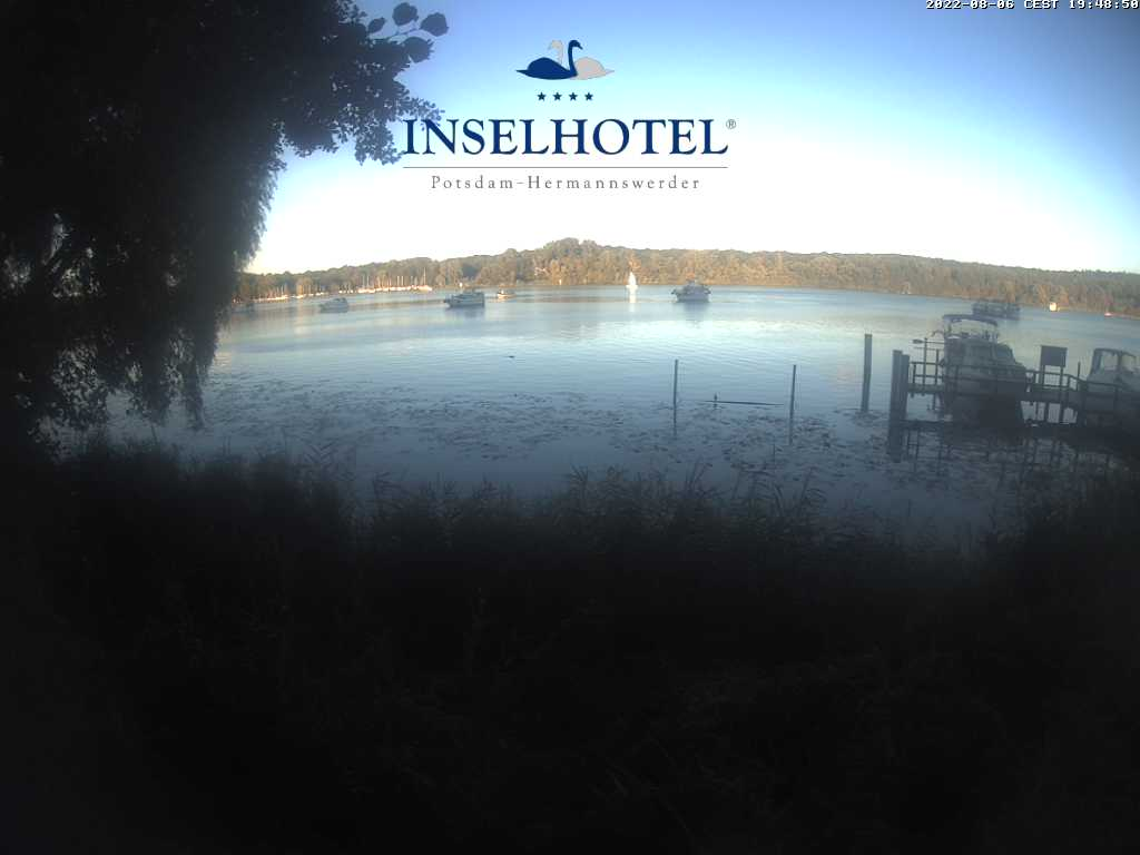 Webcam - Inselhotel Potsdam Hermannswerder