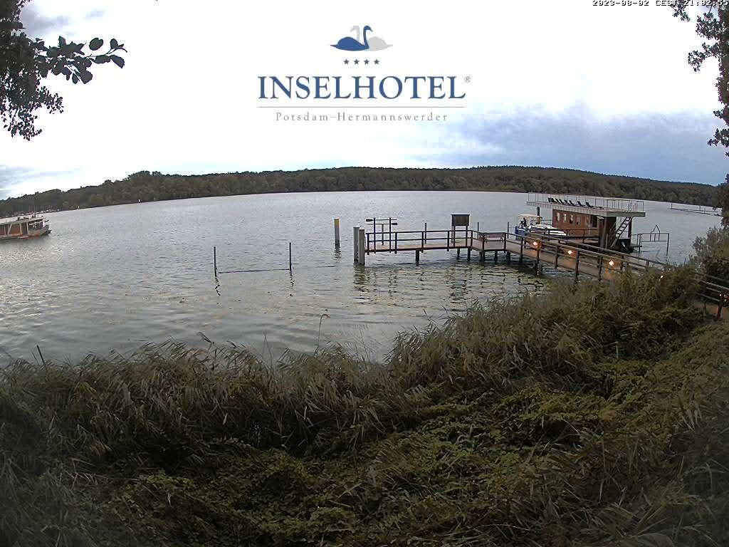Webcam - Inselhotel Potsdam Hermannswerder